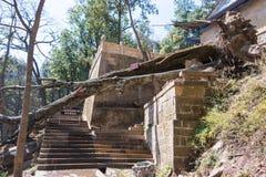 YUNNAN, CHINE - 21 MARS 2015 : Temple de Baoxiang au bâti de Shibaoshan Photos libres de droits