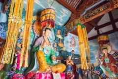 YUNNAN, CHINE - 21 MARS 2015 : Temple de Baoxiang au bâti de Shibaoshan Images stock