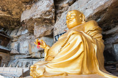 YUNNAN, CHINE - 21 MARS 2015 : Temple de Baoxiang au bâti de Shibaoshan Images libres de droits