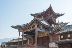 YUNNAN, CHINE - 20 MARS 2015 : Village antique de Shaxi un ANC célèbre Image libre de droits