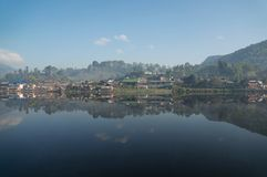 Yunnan Chinese village Royalty Free Stock Image