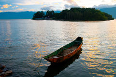 Yunnan Dali Erhai scenery Stock Photo