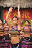 Yunnan dance group Royalty Free Stock Photo