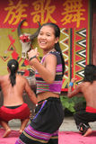 Yunnan dance group Royalty Free Stock Photography