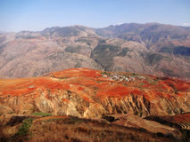 Yunnan dongchuan red field Royalty Free Stock Images