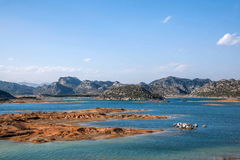 Yunnan Haifeng Wetland Royalty Free Stock Images