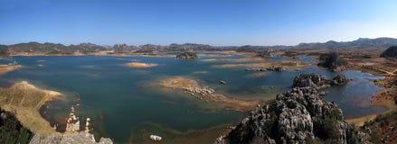 Yunnan Haifeng wetland panorama Royalty Free Stock Photo