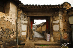 Yunnan Heshun town Royalty Free Stock Images