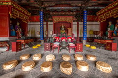 Yunnan Honghe Prefecture Jianshui Confucius Temple Great Hall Royalty Free Stock Photography
