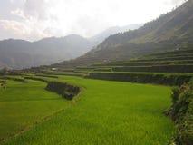 Yunnan Kina solnedgång Fotografering för Bildbyråer