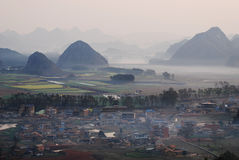 YunNan landscape Royalty Free Stock Photography