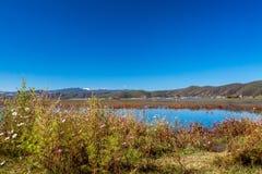 Yunnan. Lashihai lake, Yunnan Province, China Stock Photo