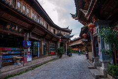 Yunnan Lijiang aleja Zdjęcie Royalty Free