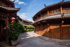 Yunnan Lijiang aleja Obraz Royalty Free