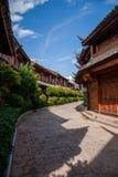 Yunnan Lijiang aleja Zdjęcia Stock