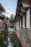Yunnan Lijiang aleja Fotografia Royalty Free