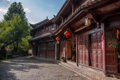 Yunnan Lijiang aleja Zdjęcie Stock