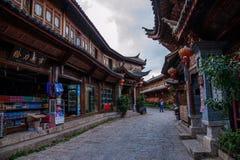 Yunnan Lijiang alley Royalty Free Stock Photo