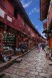 Yunnan Lijiang alley Stock Photos