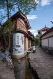 Yunnan Lijiang alley Royalty Free Stock Photography