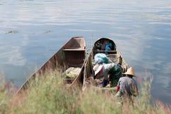 Yunnan, Porcelanowy Dal piękny Erhai Fotografia Royalty Free