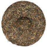 Yunnan rawsheng puerh herbata z kamiennym odciśnięcie koszt stały widokiem zdjęcie stock