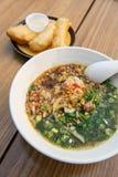 Yunnan rice noodle soup with deep-fried doughstick Stock Photos