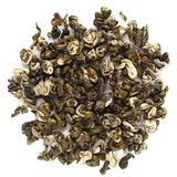 Yunnan Simao Huoqing Green Tea. Isolated Stock Image