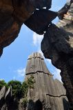 Yunnan Stone forest Stock Photo