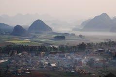 Yunnanlandschap royalty-vrije stock fotografie