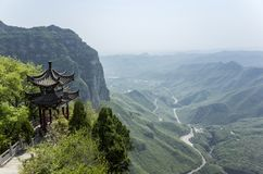 YunTai-Berglandschaft Lizenzfreies Stockfoto