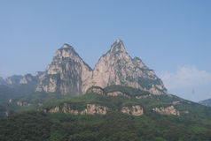 Yuntai mountain Stock Images