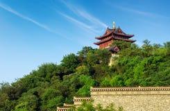 Yuntai pawilon w Zhenjiang fotografia royalty free
