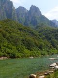 Yuntaishan landscape stock photo