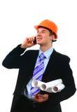 yuong рабочий-строителя Стоковые Фотографии RF