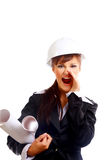 Yuong construction worker Royalty Free Stock Images