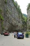 Yupsharsky峡谷 库存图片