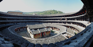 Yuqing floor. Fujian tulou construction architecture landmarks travel historic buildings life live hakka fun stock images