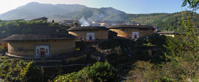 Yuqing floor. Fujian tulou construction architecture landmarks travel historic buildings life live hakka fun royalty free stock images