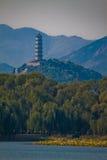 Yuquan πύργος λόφων του Πεκίνου yufeng Στοκ Φωτογραφίες