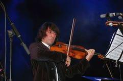 Yuri Bashmet, gevierde leider en violist Stock Afbeeldingen