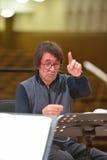 Yuri Bashmet no ensaio Fotografia de Stock Royalty Free
