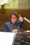 Yuri Bashmet op de repetitie Royalty-vrije Stock Fotografie