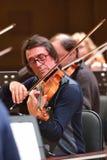 Yuri Bashmet op de repetitie Royalty-vrije Stock Afbeeldingen