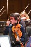 Yuri Bashmet op de repetitie Stock Foto