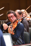 Yuri Bashmet on the rehearsal Royalty Free Stock Images