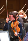 Yuri Bashmet on the rehearsal Stock Photo