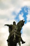 Yuri Dolgorukiy Monument in Moscow, Russia Royalty Free Stock Photo