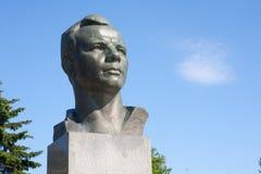 Yuri Gagarin monument Arkivfoton