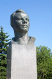 Yuri Gagarin monument. Moscow. Stock Photography